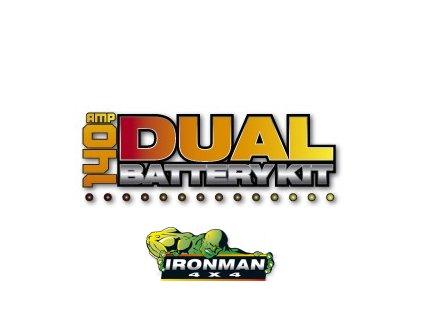 Dual Battery Kit -140 amp (vrátane monitoru)