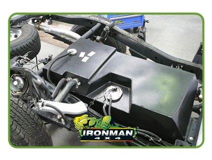 Palivová nádrž pre dlhý dojazd / Mitsubishi L200 ML/MN Benzín - 125L