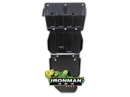 Ochrana podvozku (motor + prevodovka + chladič) pre Nissan Pathfinder R51