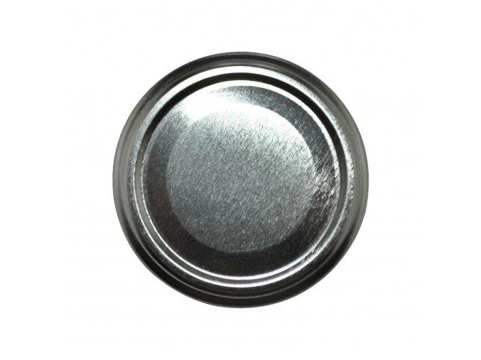 Víčko Twist 66 stříbrné paster