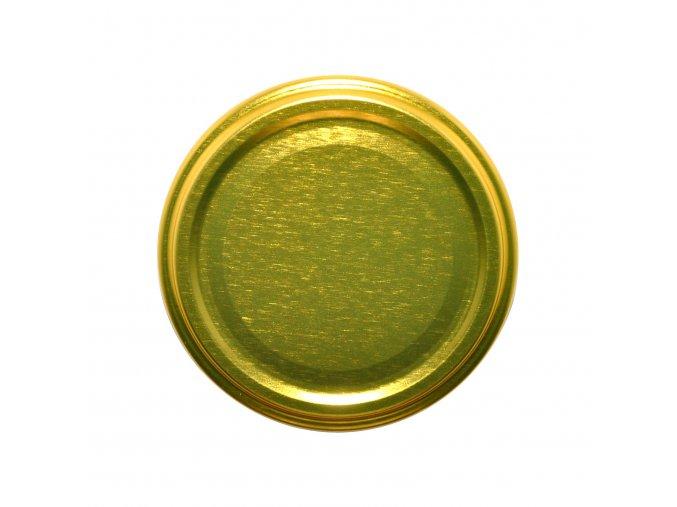 Víčko Twist 66 zlaté paster