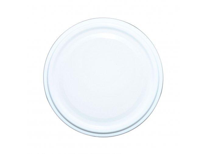 Víčko Twist 82 bílé paster