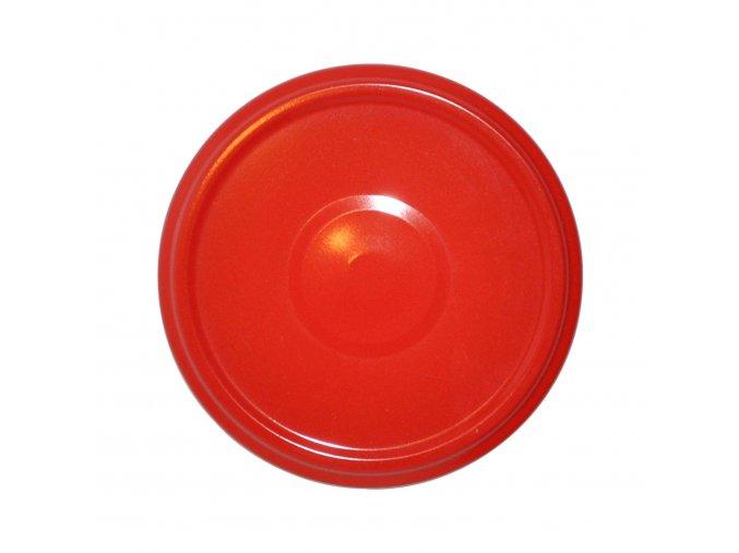 Víčko Twist 82 červené s klipem steril