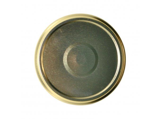 Víčko Twist 82 zlaté s klipem steril