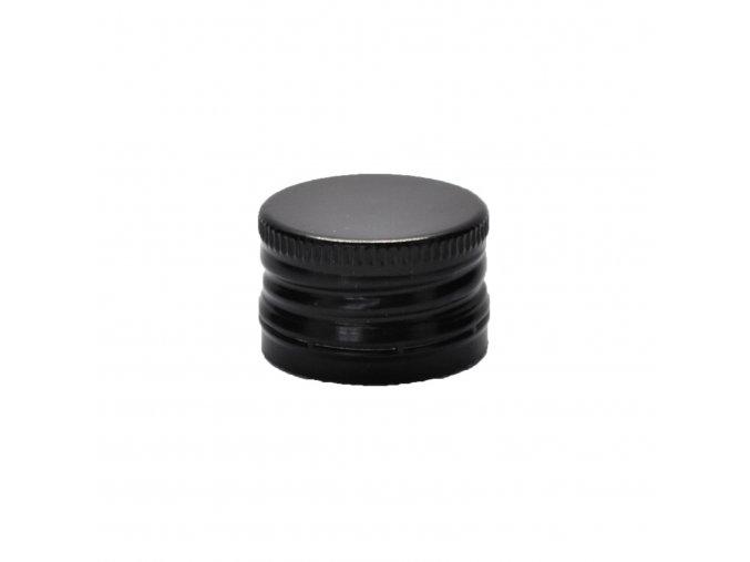 Šroubovací uzávěr na láhve 28 mm černý