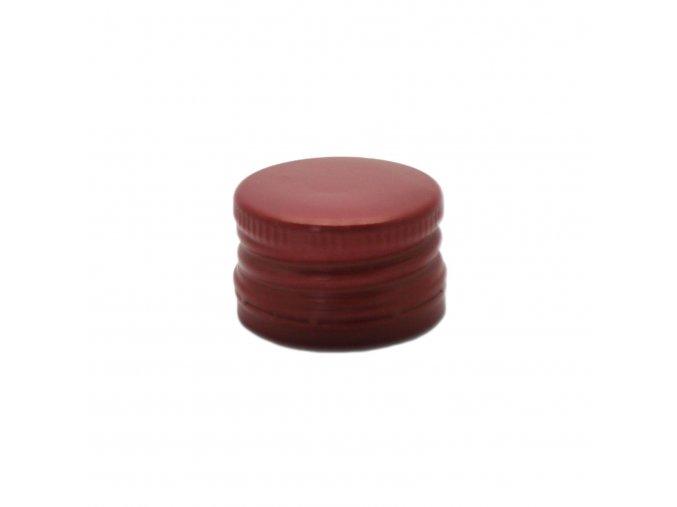 Šroubovací uzávěr na láhve 28 mm červený