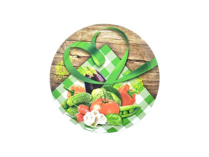 Víčko Twist 66 zelenina venkov