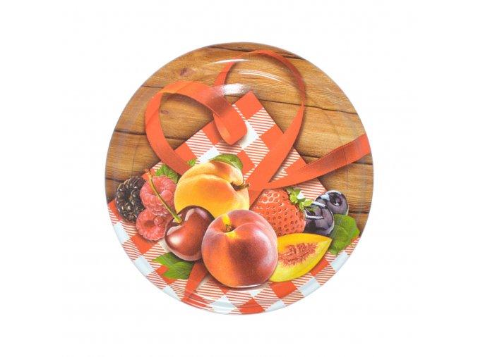 Víčko Twist 82 ovoce venkov