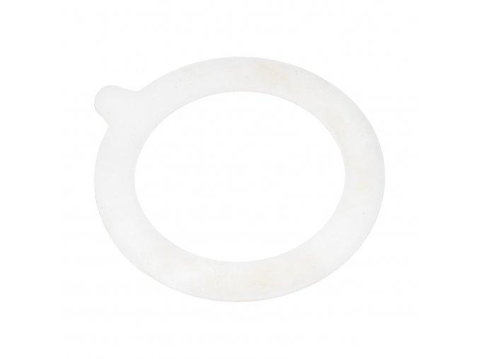 Zavařovací gumy do patentních sklenic DZK bílé velké