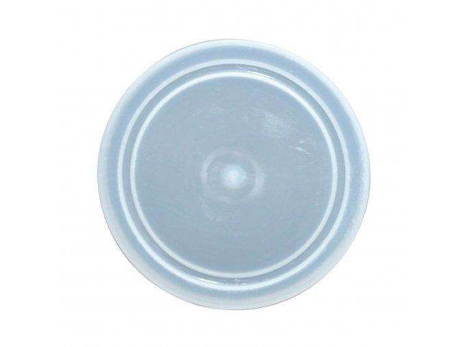 plastové víčko 73 transparentní