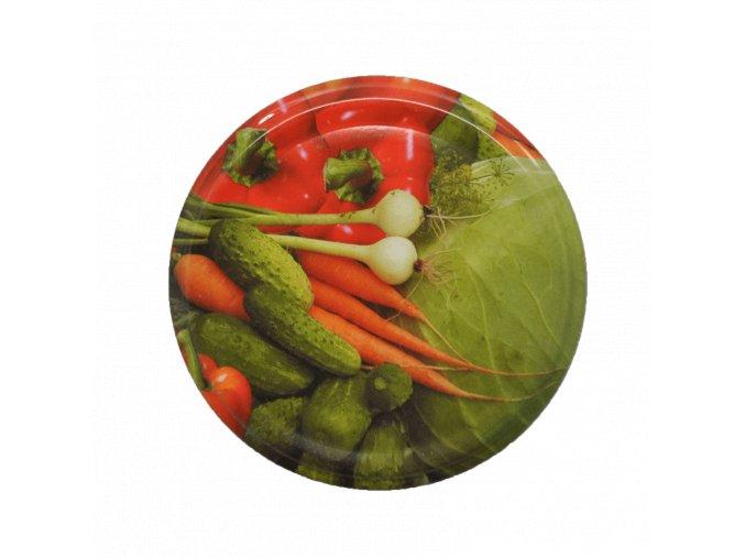 Víčko Twist 82 zelenina MIX 2