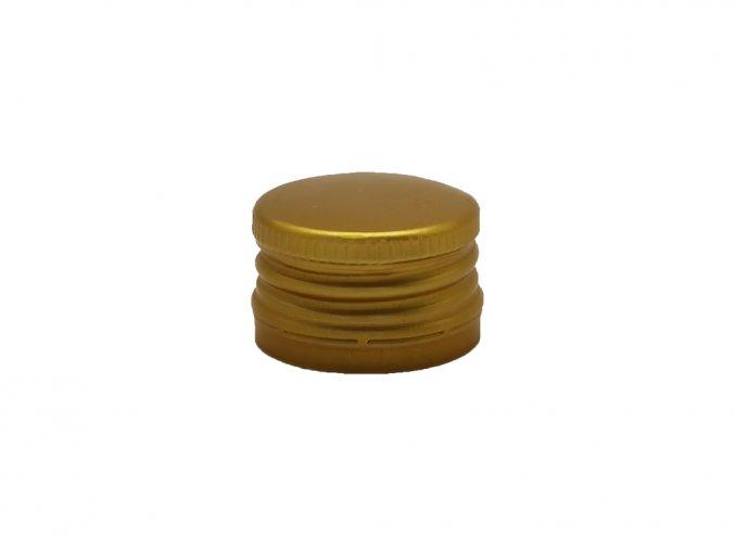 Šroubovací uzávěr na láhve 28 mm zlatý