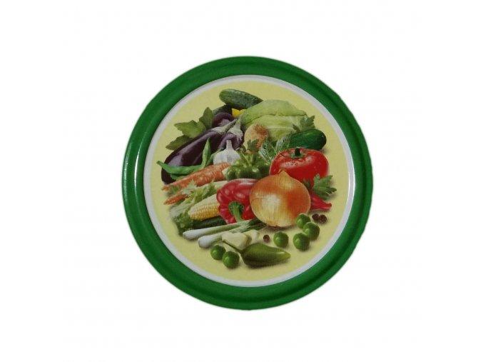 Víčko Twist 66 zelenina PROKO
