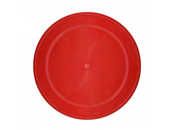 plastové víčko 99 červené
