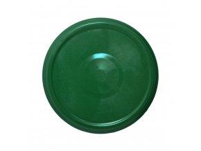 Víčko Twist 82 zelené s klipem steril