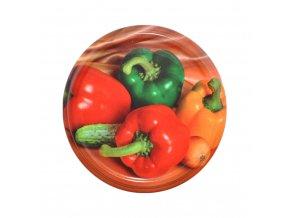 Víčko Twist 82 paprika
