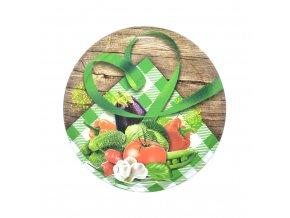 Víčko Twist 82 zelenina venkov