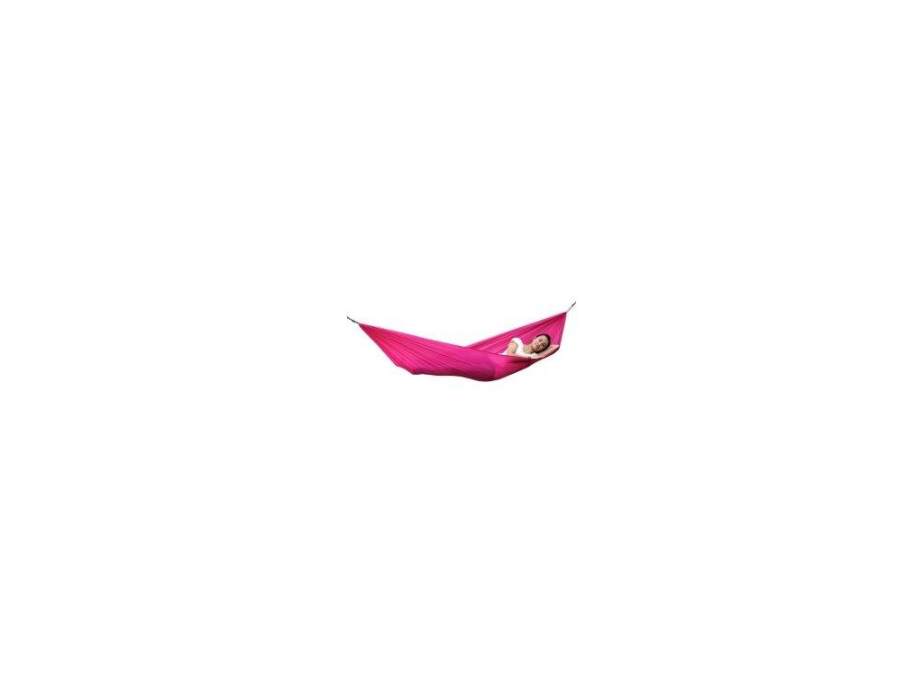 houpací síť Travel set pink