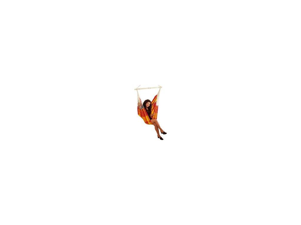 houpací křeslo Brasil Papaya