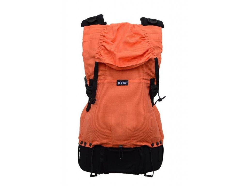 ergonomické nosítko KiBi Oranžové pruhy