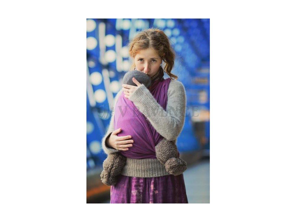 Storchenwiege Leo Violett šátek na nošení