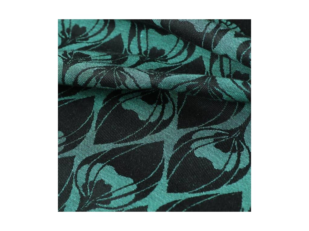 Yaro La Fleur Aqua Green Black 40 % len