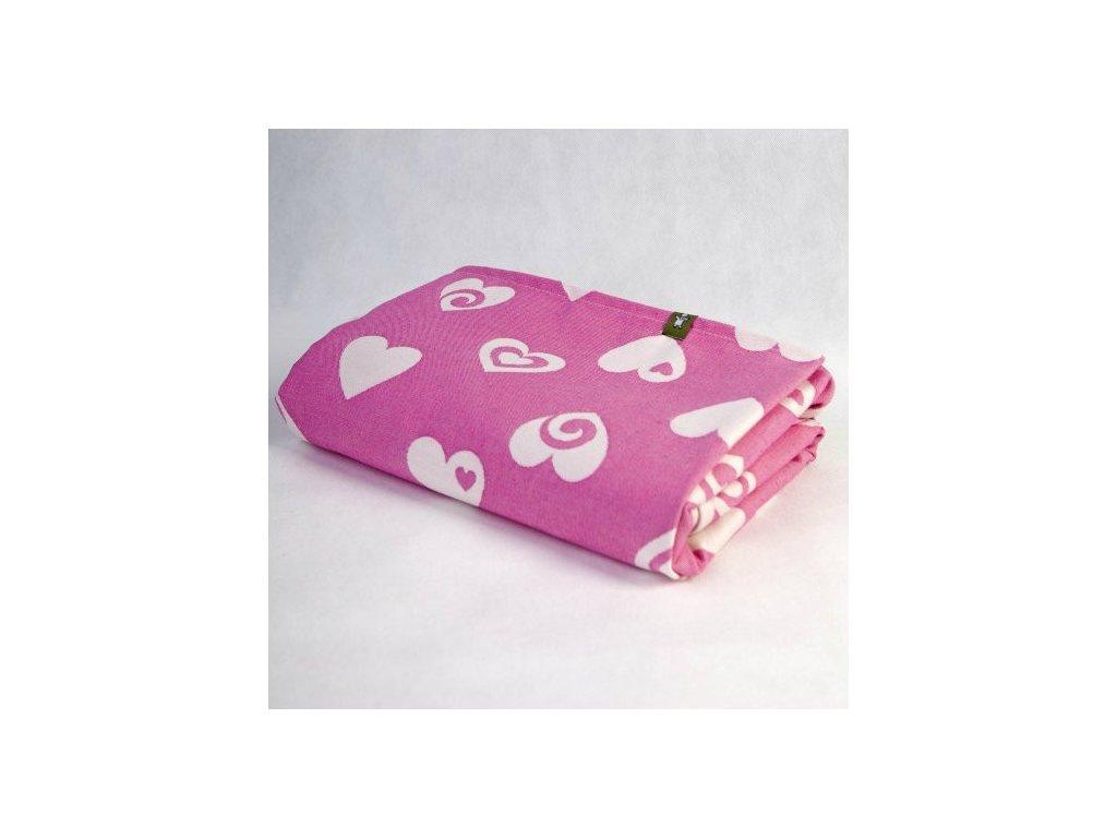 LennyLamb Sweetheart Pink and Creme
