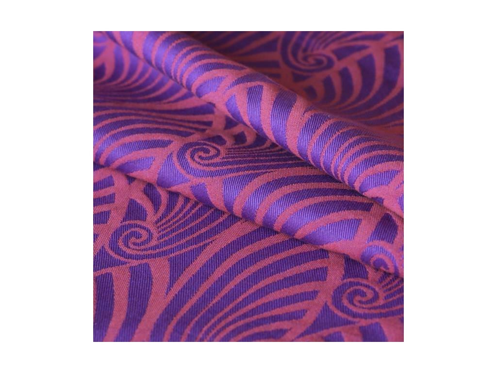 Yaro Dandy Violet Orange 40 % Vlna