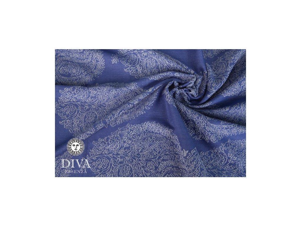 Ring Sling Diva Essenza 100% bavlna: Azzurro