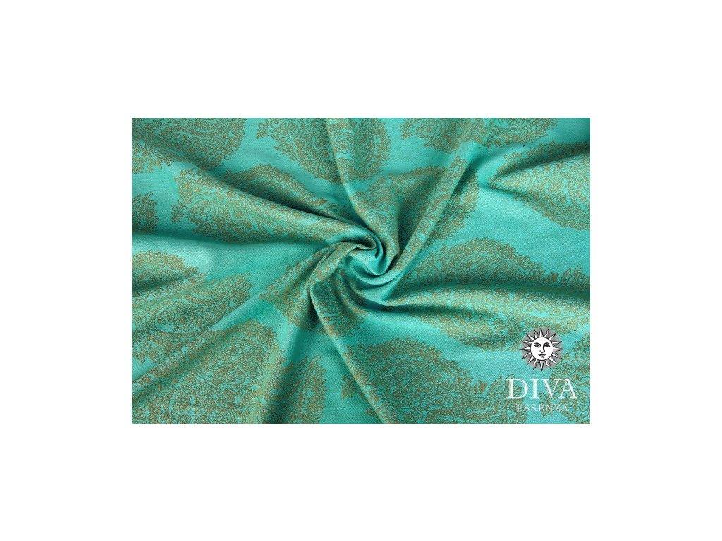 Ring Sling Diva Essenza 100% bavlna: Menta