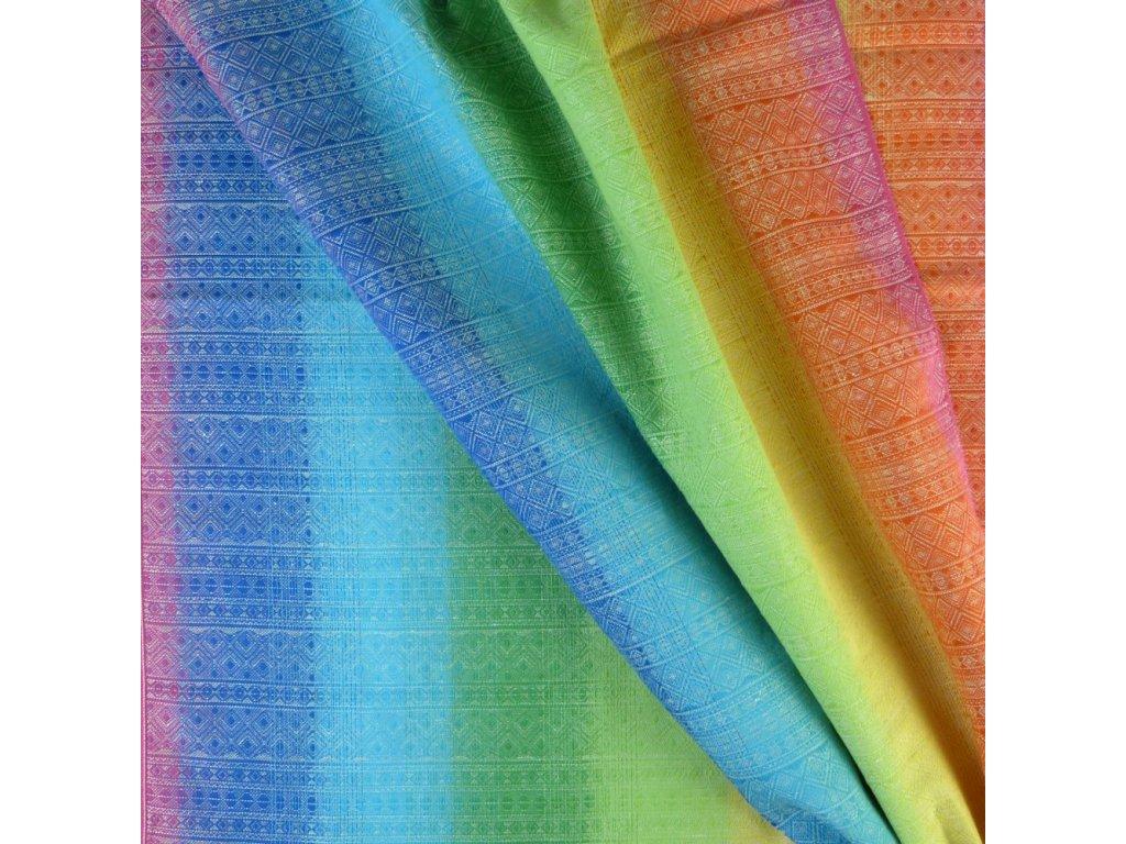 Didymos Prima  Rainbow 40% konopí