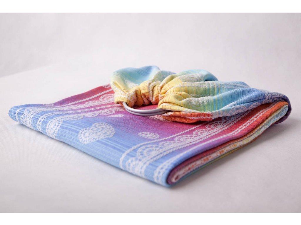 LennyLamb Ring Sling Rainbow Lace