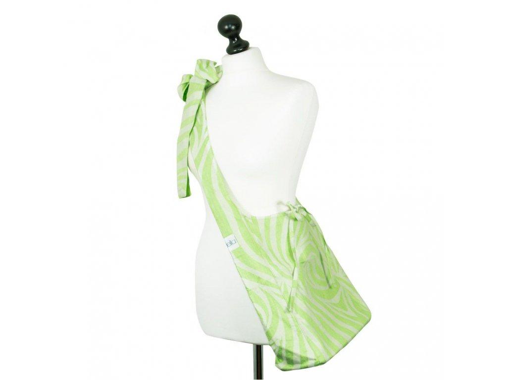 Fidella Sling Bag Shebra Lime 40% len