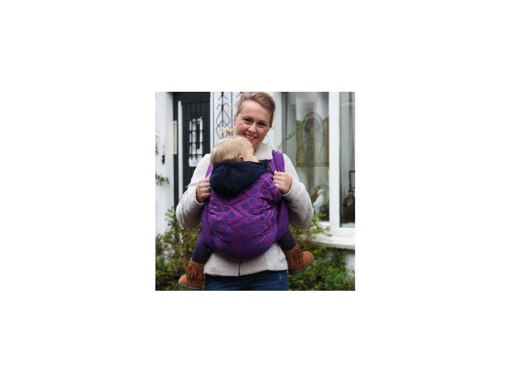 Yaro Ring Sling La Vita Purple-Pink 40% len
