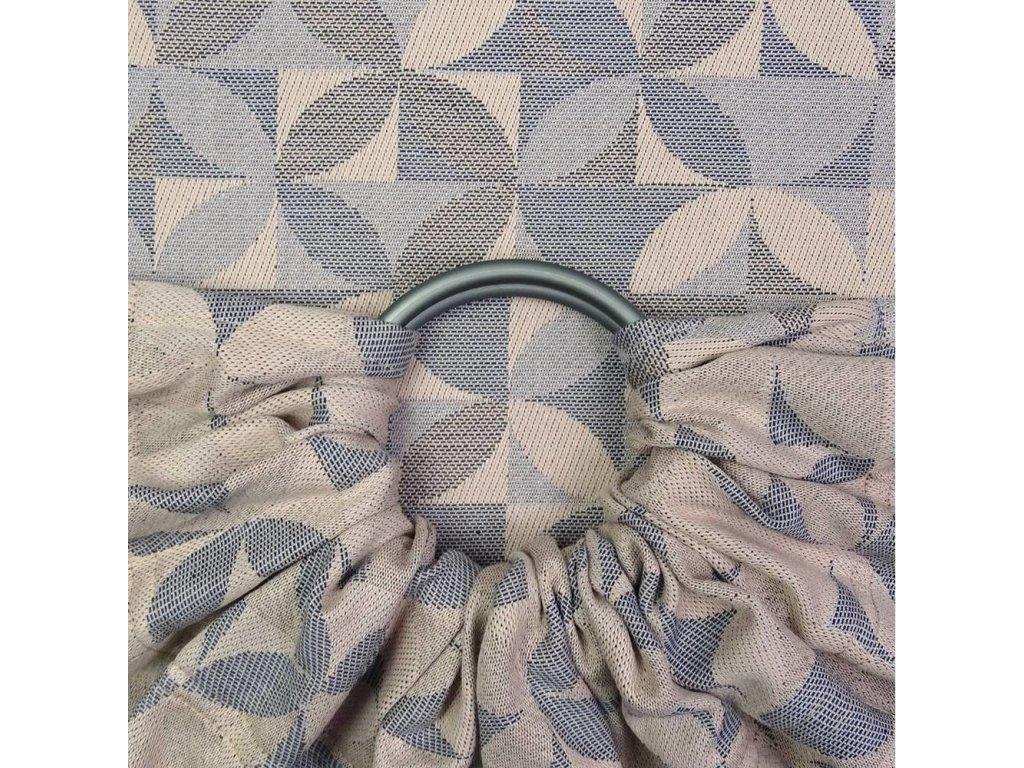 Fidella ring sling Kaleidoscope Sand