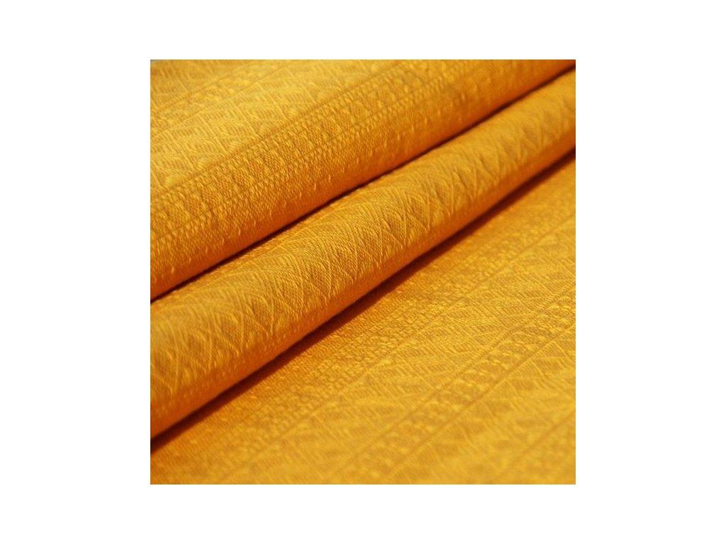 Didymos šátek na panenky Prima Slunečně žlutý