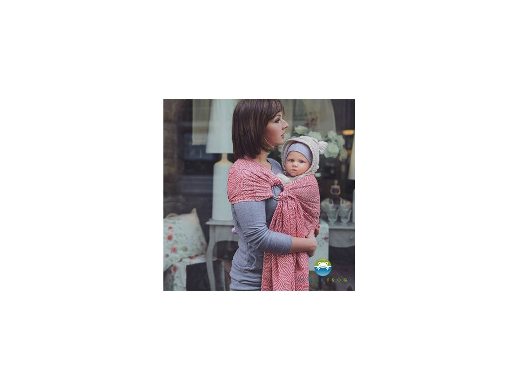 Little Frog Ring Sling Red Cube