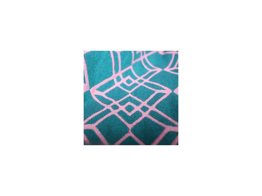 Yaro Paragon Contra Pink Teal Glam 1% třpytky