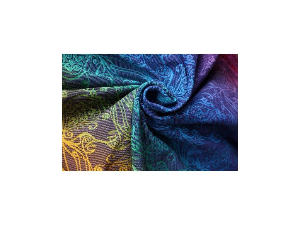 Yaro Elvish Spectrum Grad Purple 40 % vlna