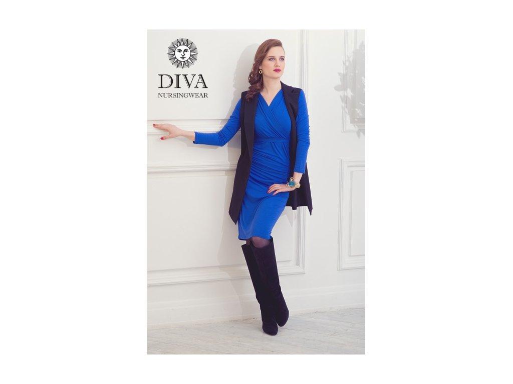 Diva Milano kojící šaty zimní Lucia Azzurro
