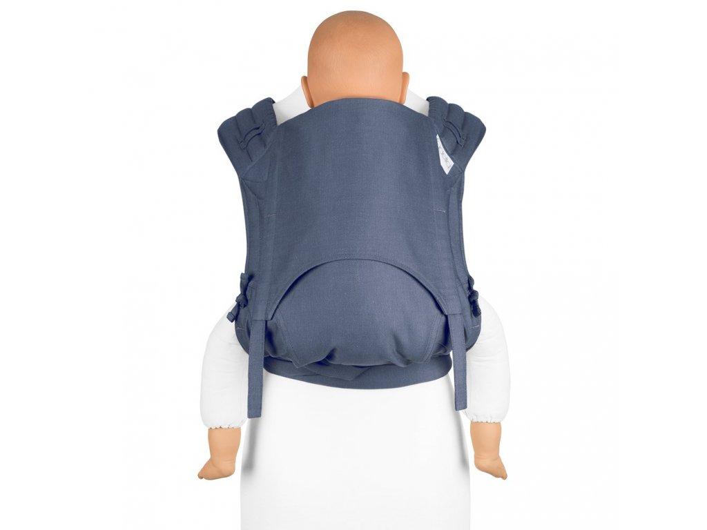 Fidella FlyClick Toddler Chevron Denim Blue