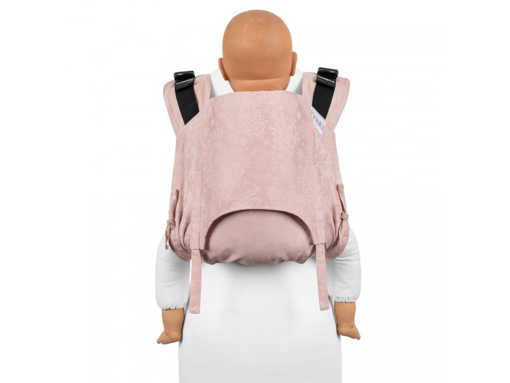 fidella onbuhimo v2 back carrier classic iced butterfly pale pink