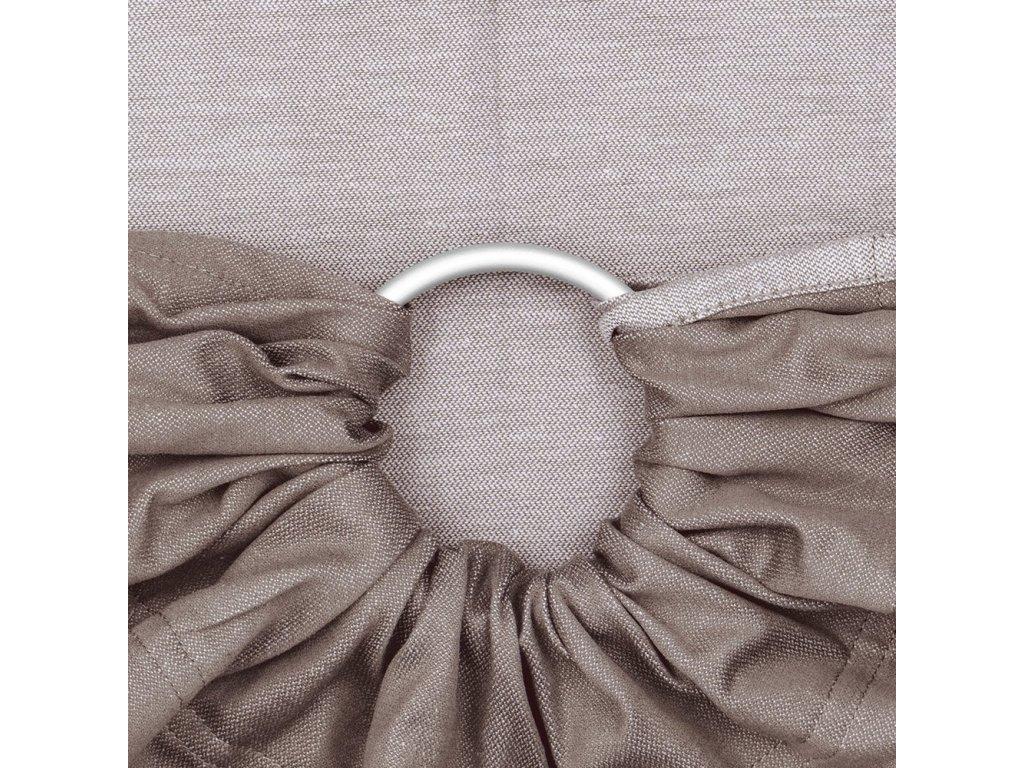 Fidella ring sling Chevron Walnut