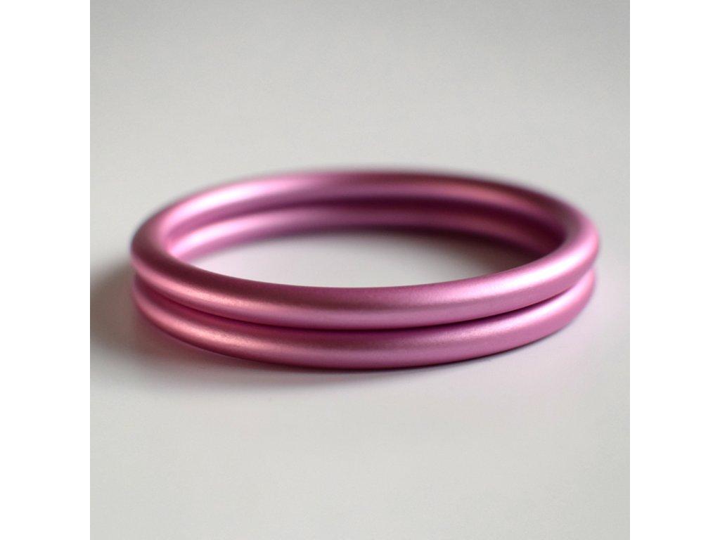 Ring Sling kroužek světle růžový