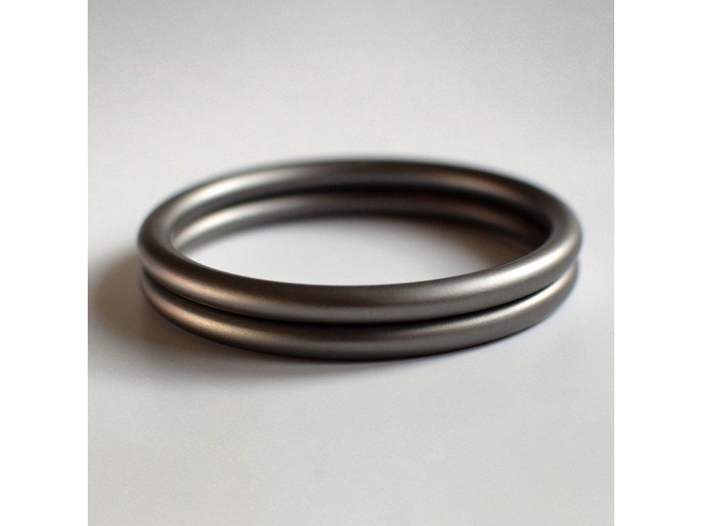 Ring Sling kroužek šedý
