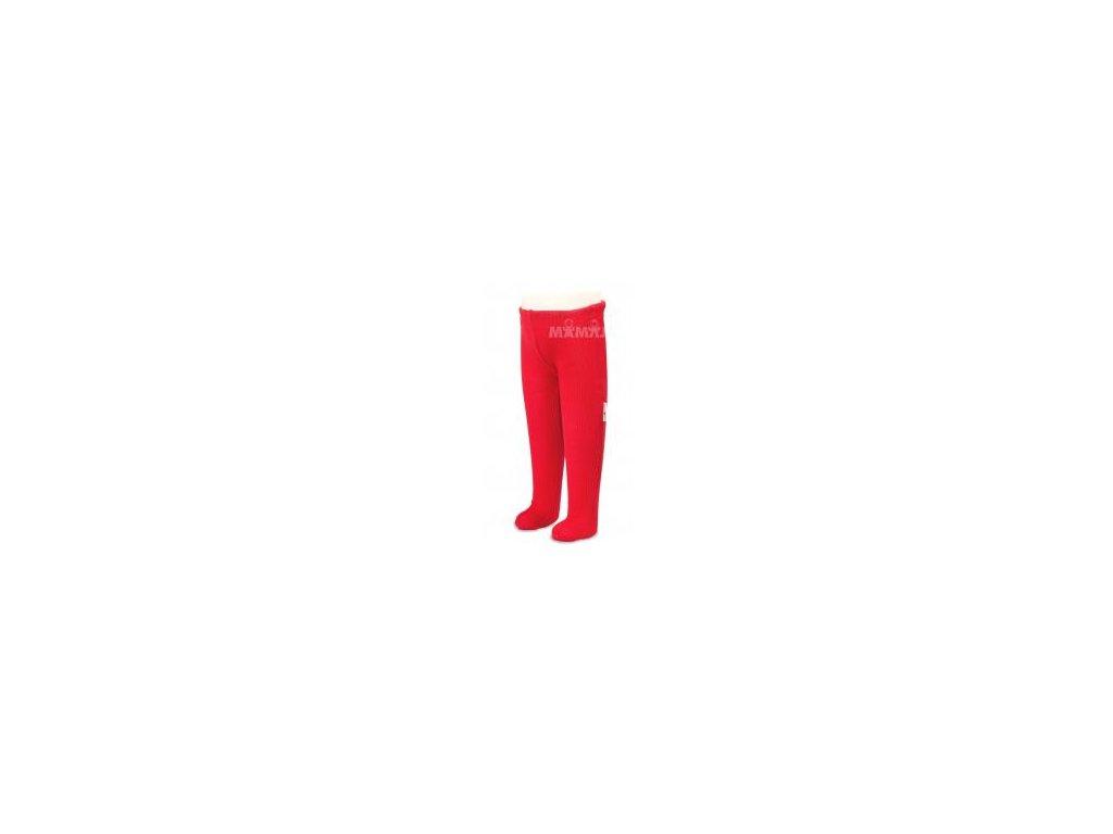 Manymonths merino punčocháče 16 Poppy Red