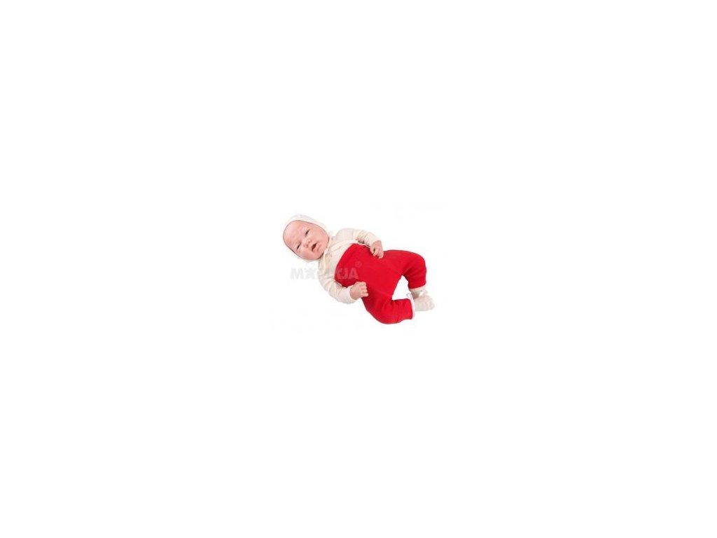 Manymonths vlněné longies 16 Poppy Red