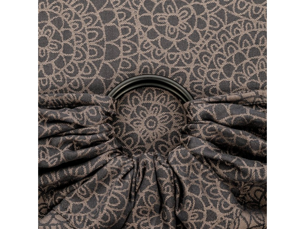 Fidella ring sling Mosaic Mocha Brown