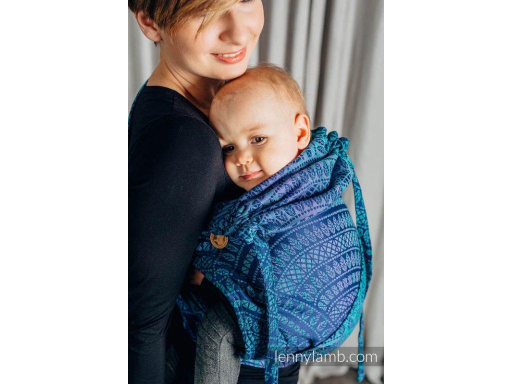 LennyLamb Wrap Tai Toddler Peacock Tail Provance