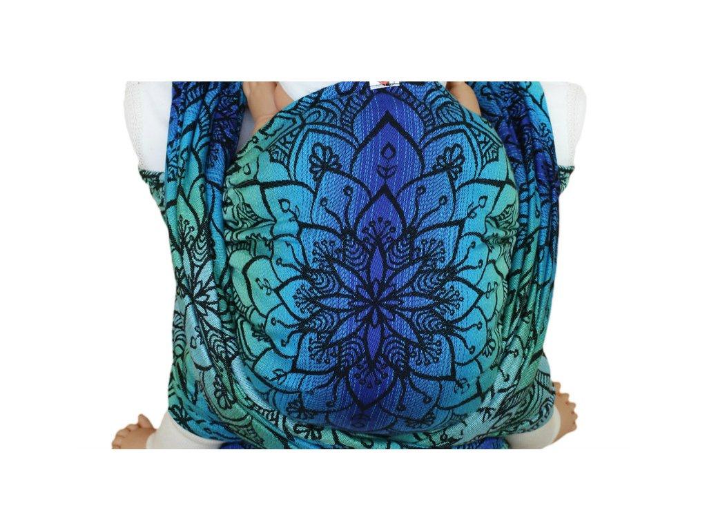 Lenka šátek Mandala Polární záře